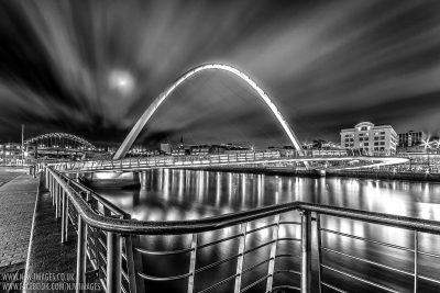 Millenium Bridge - Newcastle Quayside