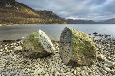 National Trust Centenary Stone - Calf Close Bay, Derwentwater