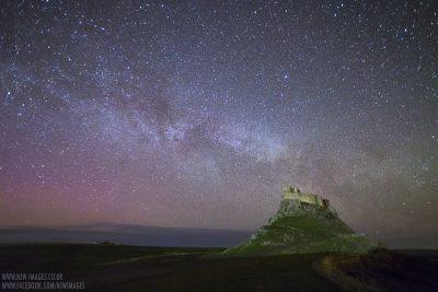 Holy Island Milky way
