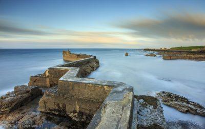 St Monans Zigzag Breakwater - Fife